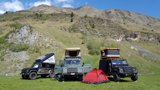 Campingplatz Les Chapieux