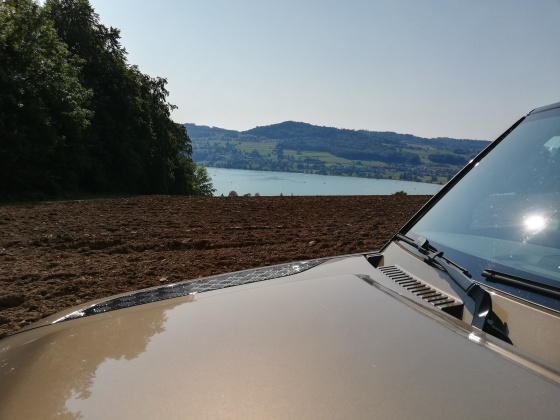 Hallwylersee mit New Defender